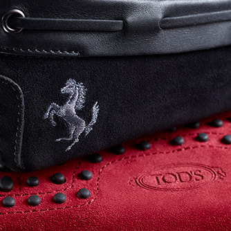 Tod's for Ferrari トッズ・フォー・フェラーリ © Tod's
