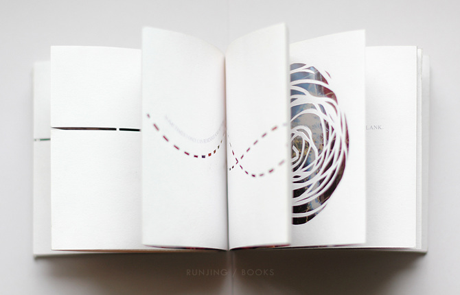 Runjing Wang Book Art