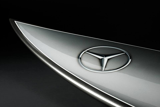 Mercedes-Benz Silver Arrow Of The Seas Surfboard