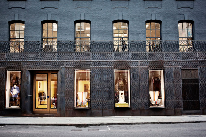 Paul Smith's Cast-Iron Fronted Store In London