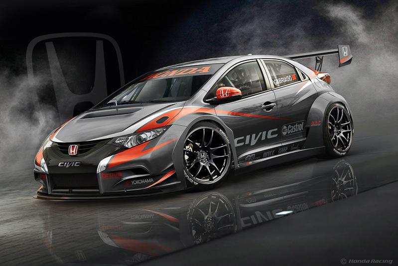 Honda Civic WTCC スケッチ