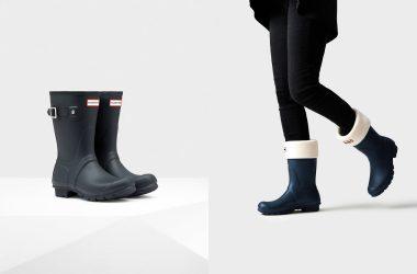 憂鬱な雨の日にバイバイ。高品質、高機能、完全防水でオシャレなレインブーツ
