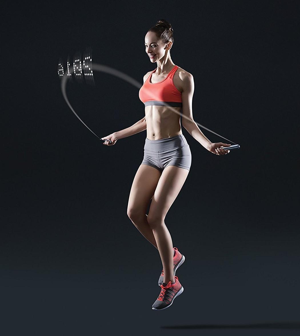 飛んだ数を表示してくれる縄跳び A TRIPPY SKIPPY ROPE © YANKO DESIGN