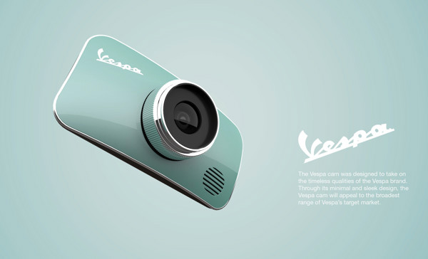 Vespa Camera